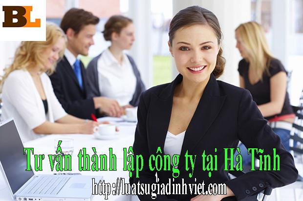 Tư vấn thành lập công ty tại Hà Tĩnh